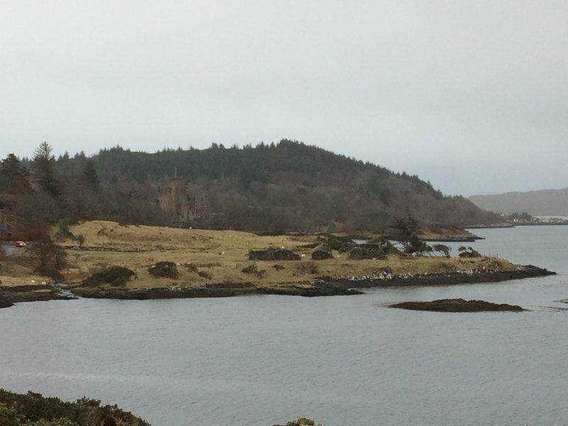 Castillo de Dunvegan (escondido en algún lugar)