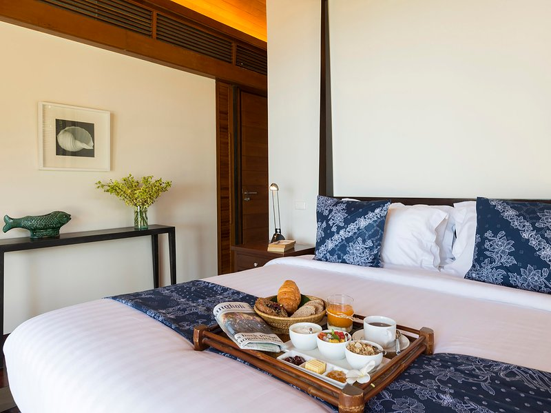 Villa Shanti - Breakfast in bed