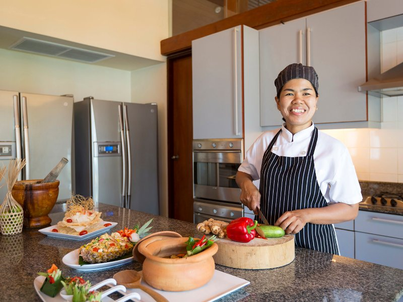 Villa Shanti - Our happy chef