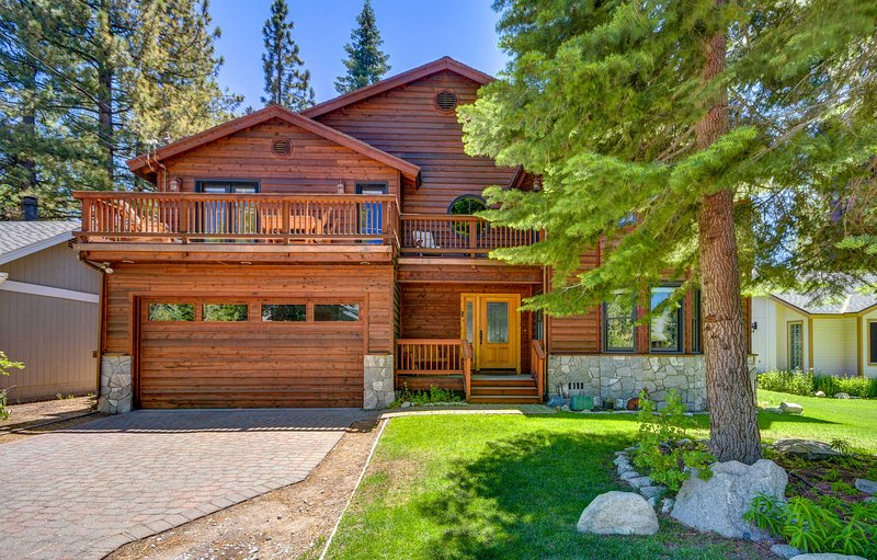 Explore South Lake Tahoe from 'Skyline Lodge,' a stunning vacation rental!