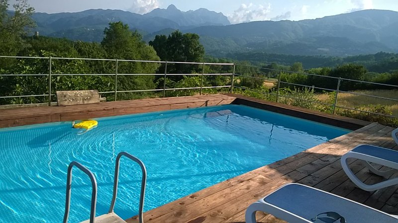 Enjoy the pool with stunning views