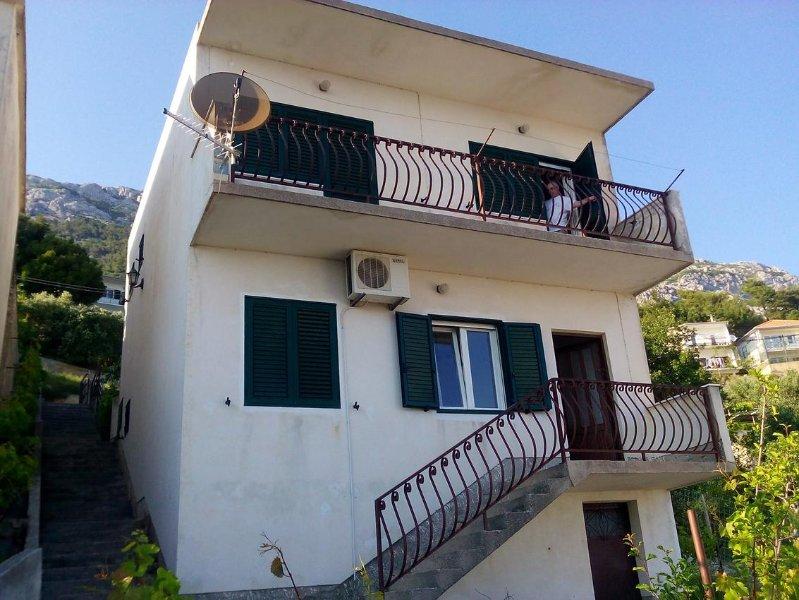 One bedroom apartment Marušići, Omiš (A-657-b), vacation rental in Marusici