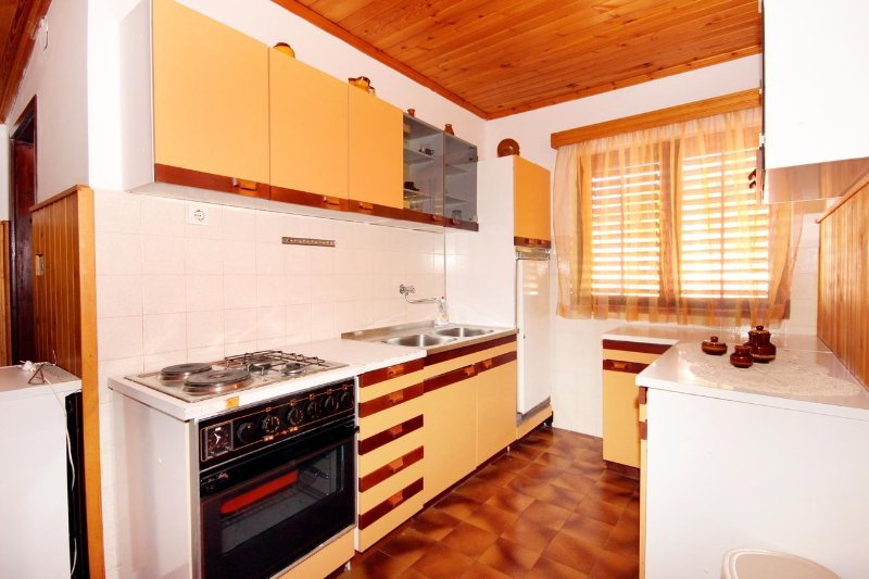Keuken, Oppervlakte: 6 m²