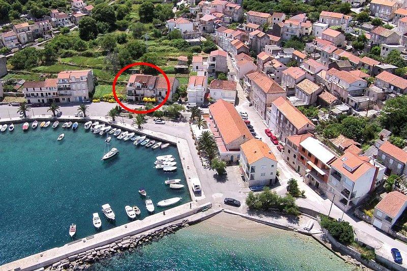 Two bedroom apartment Račišće (Korčula) (A-9337-a), holiday rental in Racisce