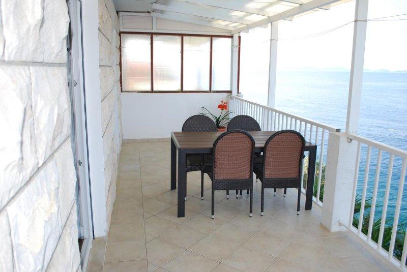 Terrasse 1, Surface: 18 m²