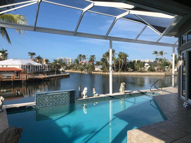 Exklusive Privat-Villa für 6 Personen mit Panorama-Cage für  schöne West-Sicht, vacation rental in Marco Island