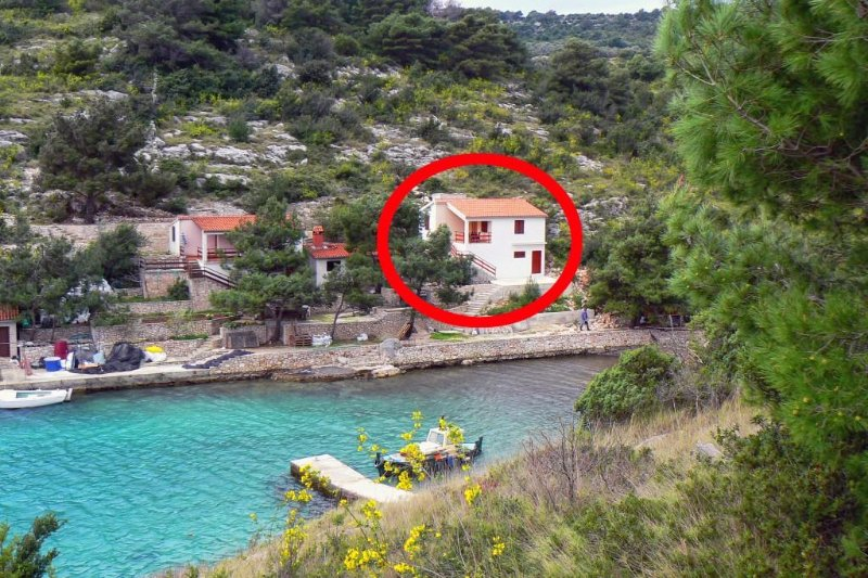 Two bedroom apartment Cove Dumboka, Dugi otok (A-489-a), holiday rental in Sali