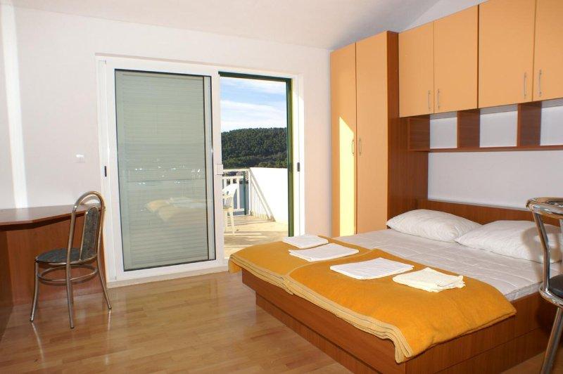 Slaapkamer, Oppervlakte: 14 m²