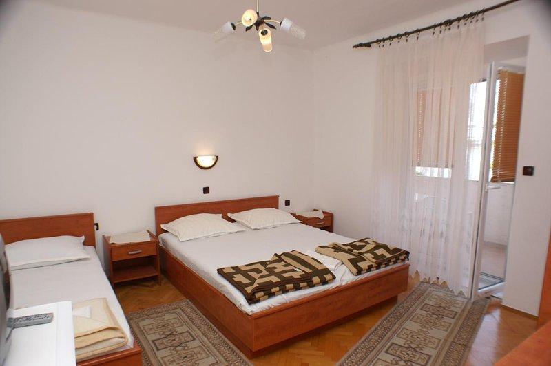 Slaapkamer, Oppervlakte: 16 m²