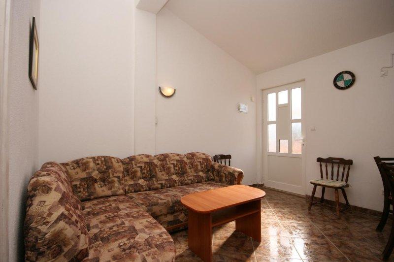 Woonkamer, Oppervlakte: 9 m²