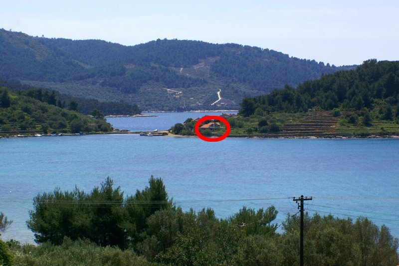 Three bedroom house Cove Gradina, Korčula (K-4457), vacation rental in Blato