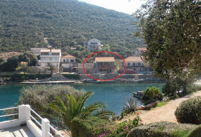 One bedroom apartment Cove Zarace (Gdinj), Hvar (A-4596-a), vacation rental in Pokrivenik
