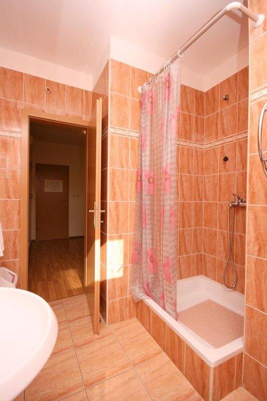 Badkamer, Oppervlakte: 5 m²