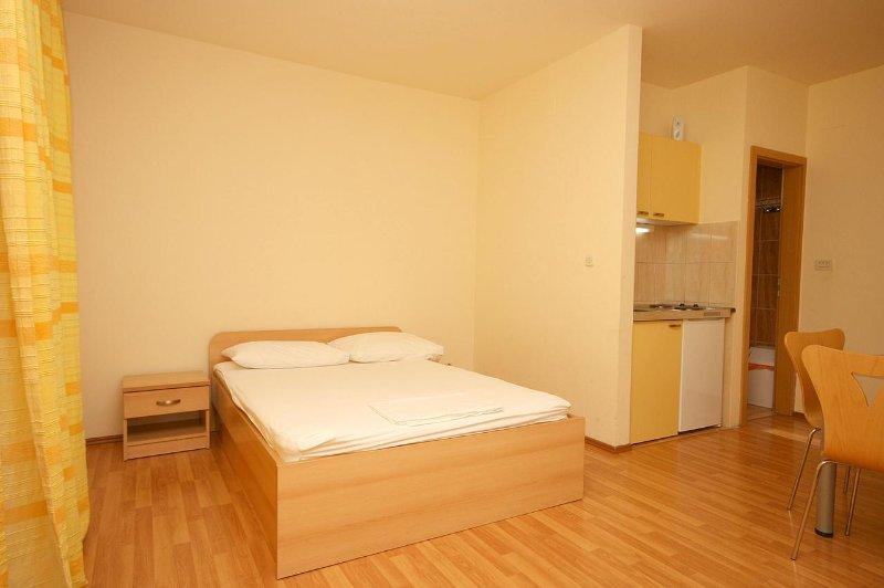 Slaapkamer, Oppervlakte: 8 m²