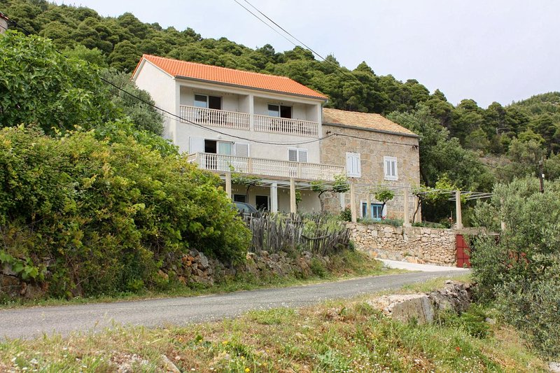 Studio flat Ropa, Mljet (AS-4944-b), holiday rental in Polace