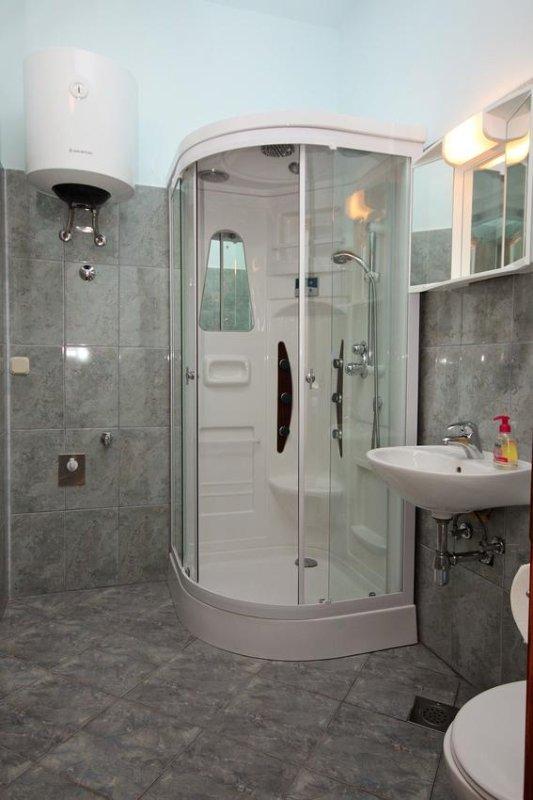 Badkamer, Oppervlakte: 4 m²
