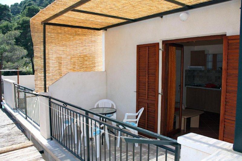 Balkon, oppervlakte: 7 m²