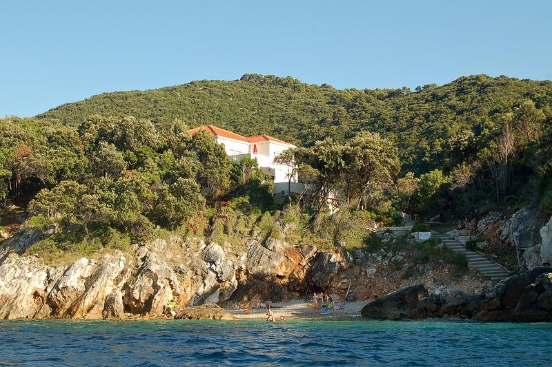 One bedroom apartment Kozarica, Mljet (A-4950-d), holiday rental in Polace