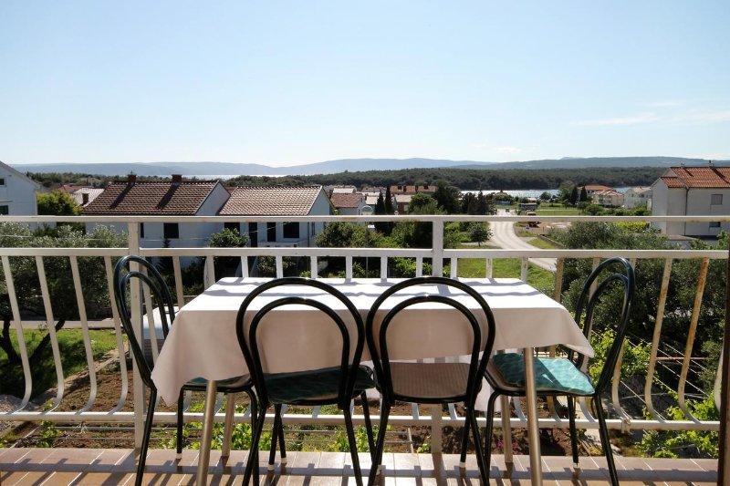 Balkon, oppervlakte: 6 m²