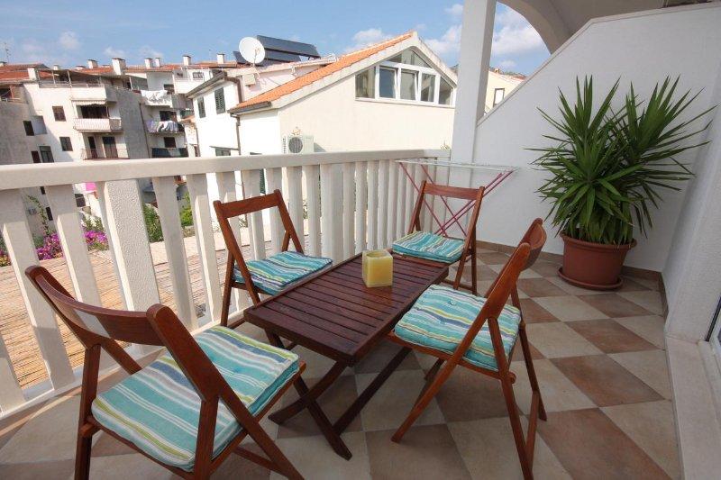 Terrasse 1, Surface: 9 m²