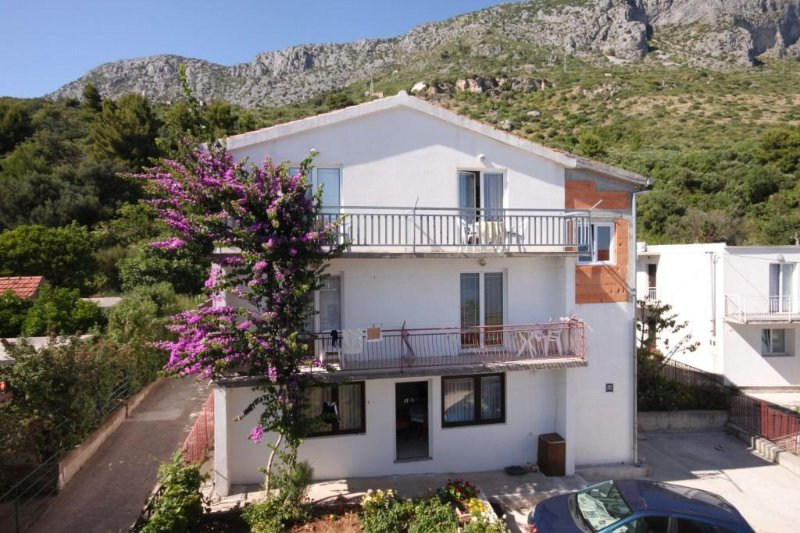 Studio flat Podaca, Makarska (AS-6745-b), holiday rental in Brist