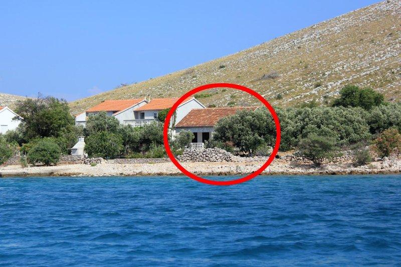 Two bedroom house Cove Suha Punta, Kornati (K-8168), holiday rental in Kornat Island