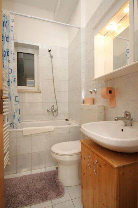Badkamer, Oppervlakte: 3 m²