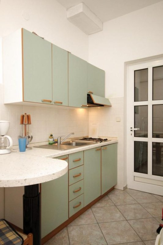 Keuken, Oppervlakte: 7 m²