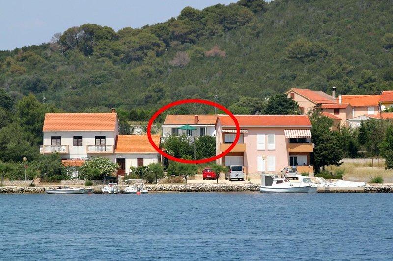 One bedroom apartment Verunić, Dugi otok (A-8104-b), holiday rental in Dugi Island