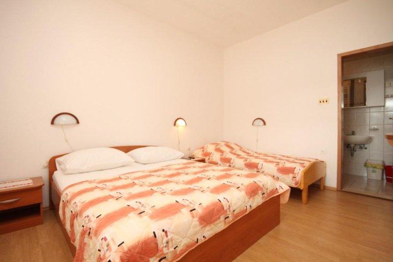 Slaapkamer, Oppervlakte: 12 m²