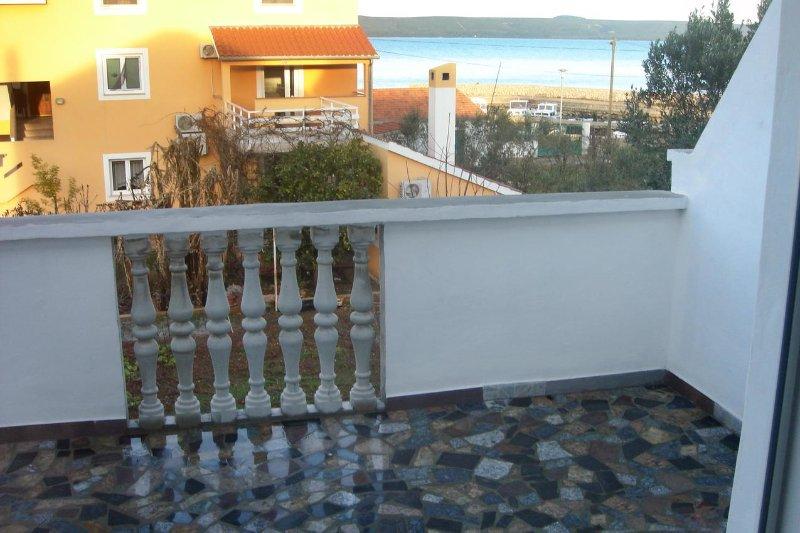 Balcon 1, Surface: 10 m²