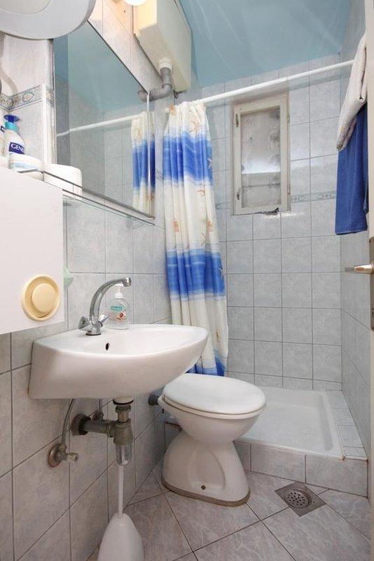 Badkamer, Oppervlakte: 2 m²