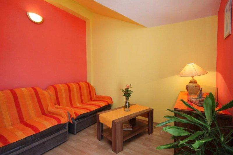 Woonkamer, Oppervlakte: 7 m²