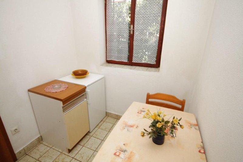 Eetkamer, Oppervlakte: 3 m²