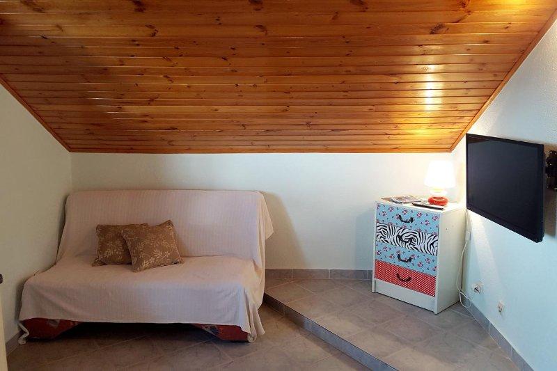 Séjour, Surface: 8 m²
