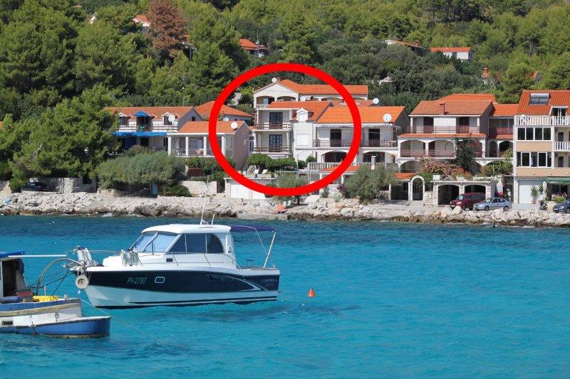 Three bedroom apartment Prižba, Korčula (A-9153-a), holiday rental in Smokvica