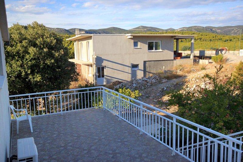 Terrasse 1, Surface: 33 m²
