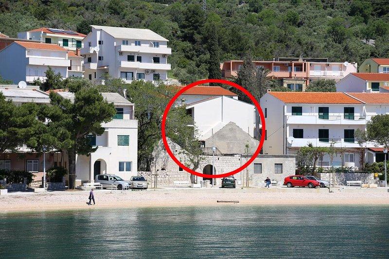 Two bedroom apartment Igrane, Makarska (A-10033-b), aluguéis de temporada em Igrane