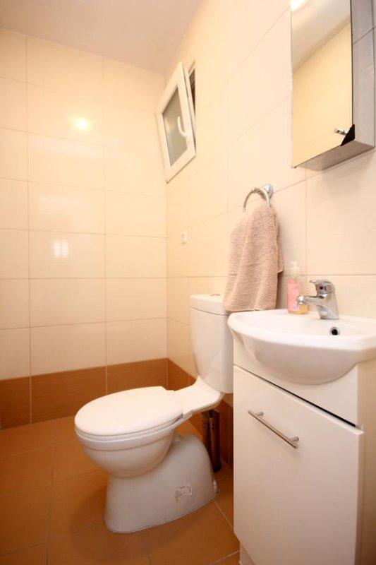 Toilette 2, Surface: 2 m²