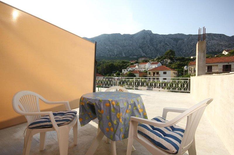 Terrasse, Surface: 45 m²
