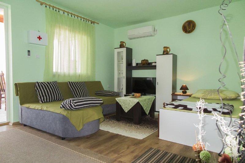 Sala de estar, superficie: 16 m²