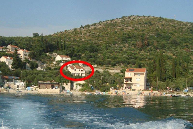 One bedroom apartment Slađenovići, Dubrovnik (A-11531-a), holiday rental in Slano