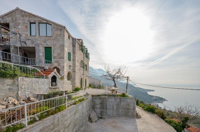 One bedroom apartment Brela, Makarska (A-11552-c), vacation rental in Brela