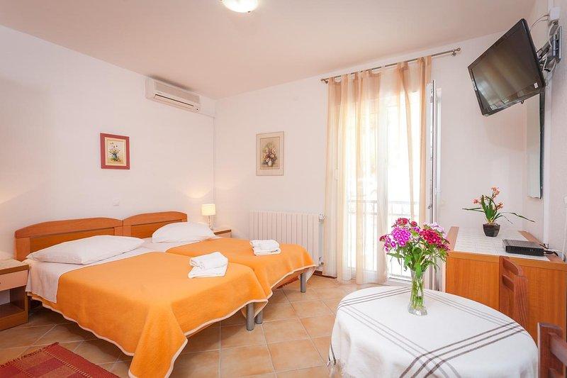 Schlafzimmer, Oberfläche: 17 m²
