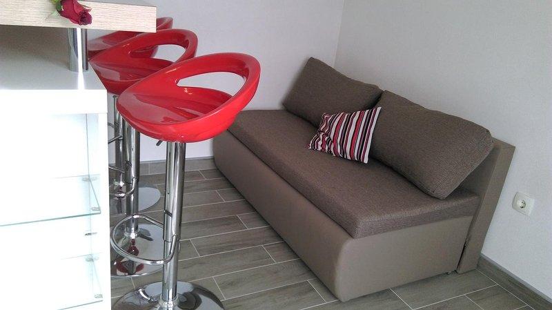 Sala de estar, de superfície: 2 m²
