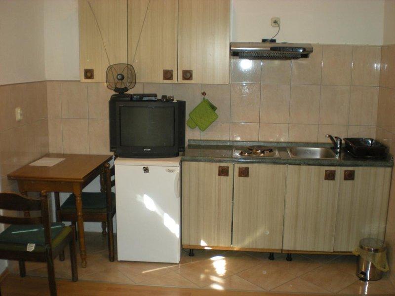 Cozinha, de superfície: 6 m²