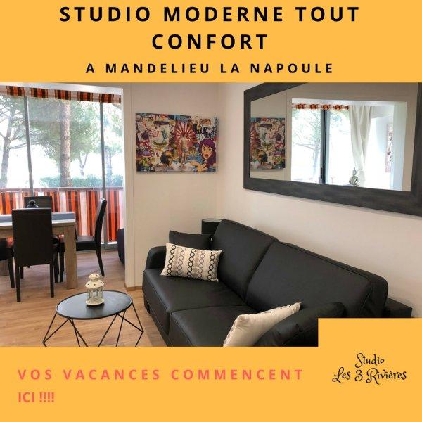 Studio klassifiziert 4 **** in möblierte Wohnung