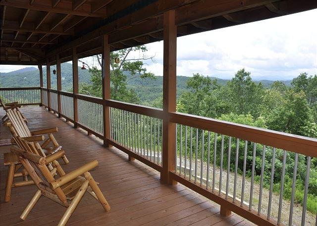Blue View Mountain_Magnificent Views_Murphy, NC Ferienhütte Re