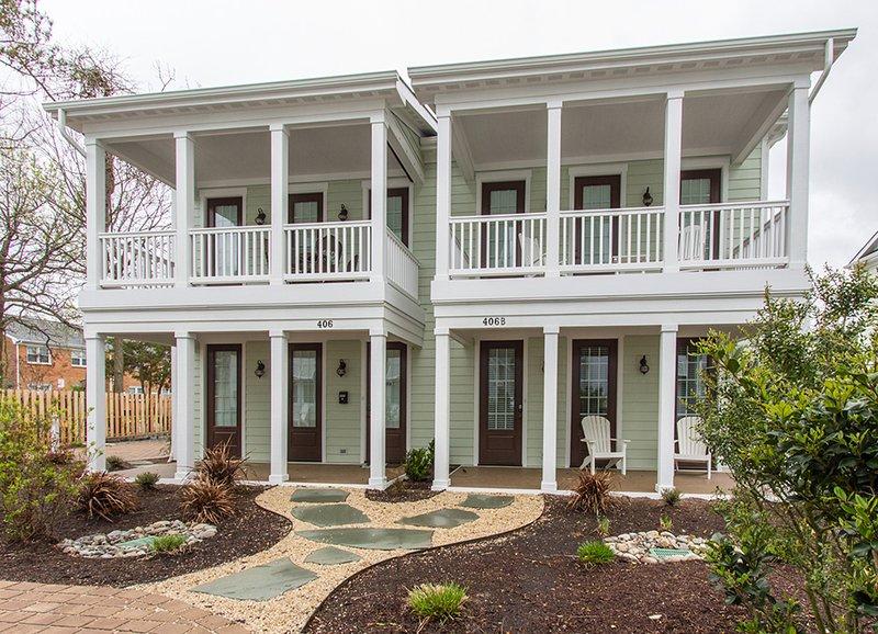 Cottage mit 2 Schlafzimmern und Blick auf den Innenhof