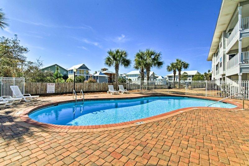 O Estado da Flórida aguarda neste condomínio de férias em Seagrove Beach.